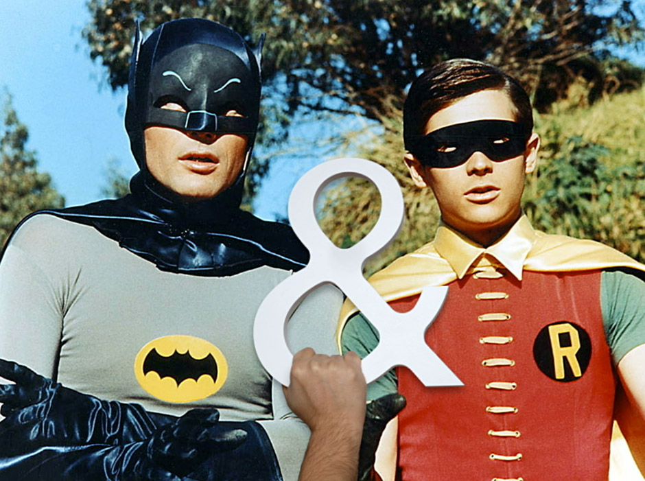 Ampersand Attitude - Batman & Robin
