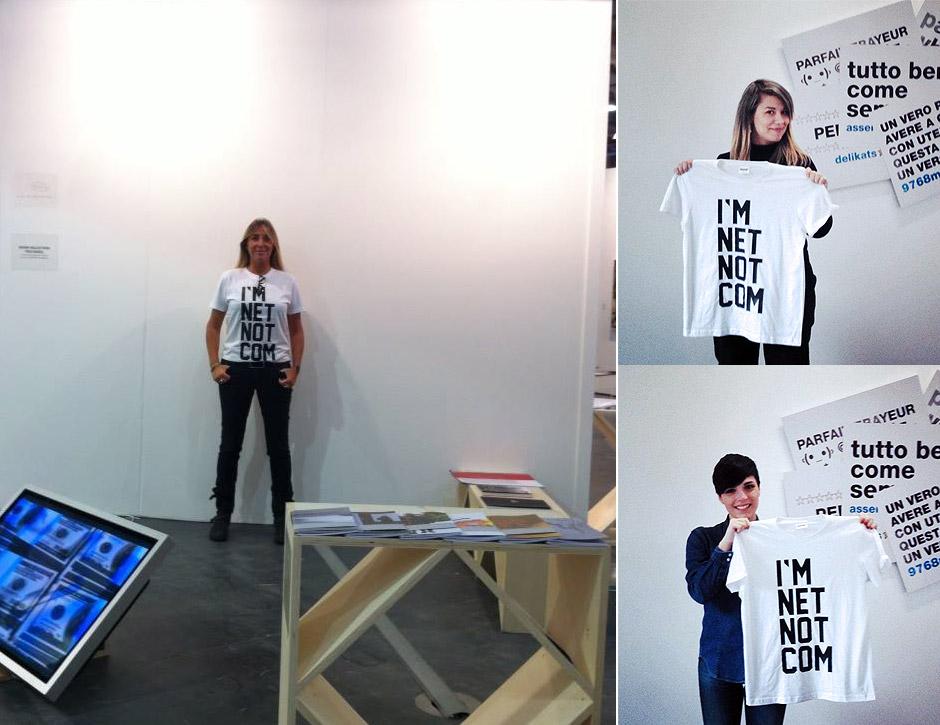 Marotta & Russo - I'm Net Not Com (t-shirt)