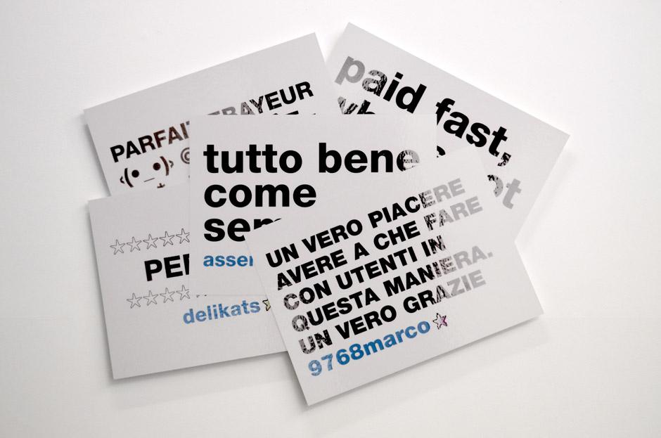 Marotta & Russo - Our Good(s) Profile, stampa UV su forex intagliato, cm 100x128
